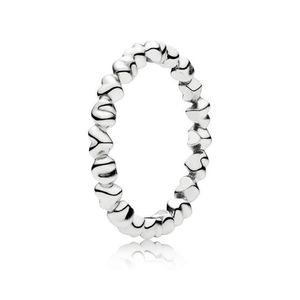 Pandora Stackable Multiple Heart ring
